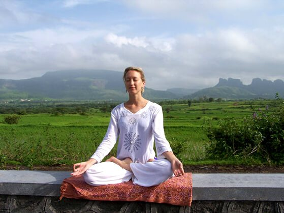 Pranayama Pose-In this pose one should be steady and comfortable, firm yet relaxed in order to a practitioner  become more aware of their body, mind, and environment.