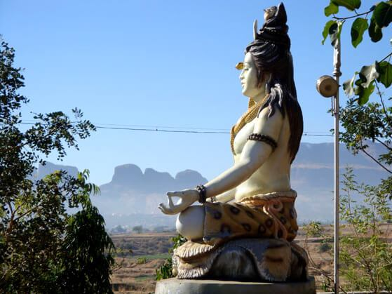 Statue of Lord Shiva Yoga Mudra