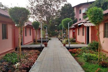Ashram View of YogaPoint Where Yoga Teaching Training Is Conducted