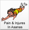 Yoga Vidya Gurukul, India: Pain & Injures In Asanas